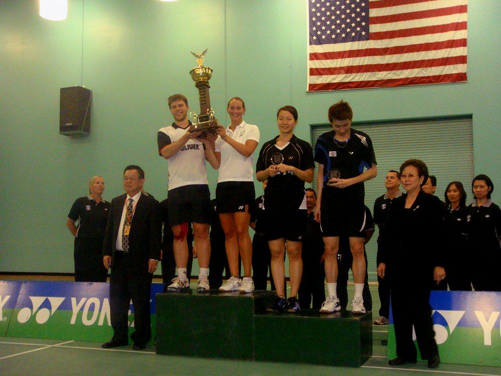Mixed-Sieg US-Open: Michael Fuchs u. Birgit Overzier