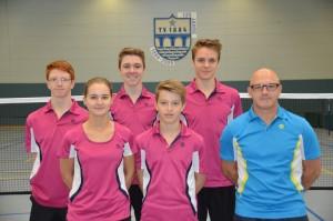 Jugendmannschaft der Saison 2015/ 16 (es fehlt: Ilka Oechsner)