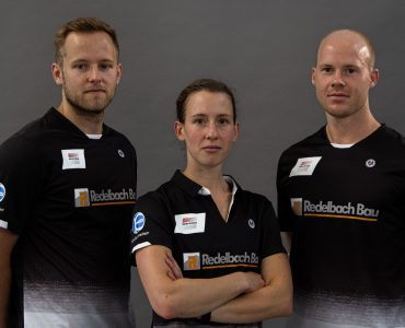 Das Bundesligateam begrüßt zwei Teams aus Oberbayern